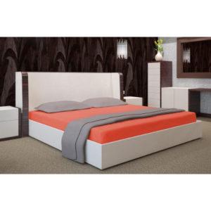 oranz kummiga voodilina